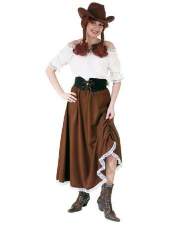 PARTY DISCOUNT Damen-Bluse Western mit Spitze, weiß, Gr. 40-42