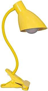 LAMPARA DE MESA DE LA MANGUERA EL MODELO PINZA COLOR AMARILLA Solo se puede utilizar bombilla LED 5w.