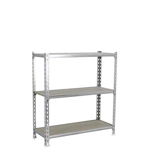 Estantería metálica sin tornillos Maderclick de 3 estantes