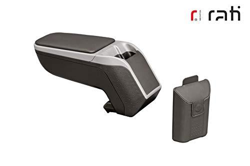 Rati Armster2 bracciolo centrale con vano portaoggetti I compatibile con FIAT 500L 2018- [silver] facelift