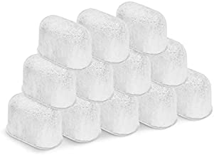 12-Pack Water Filter for Cuisinart Coffee Maker Compatible Replacement Charcoal Filter- Fits all Cuisinart Coffee Machines DGB-900BC CHW-12 SS-700 DGB-700BC DCC-3000 DCC-1100 DGB-625BC