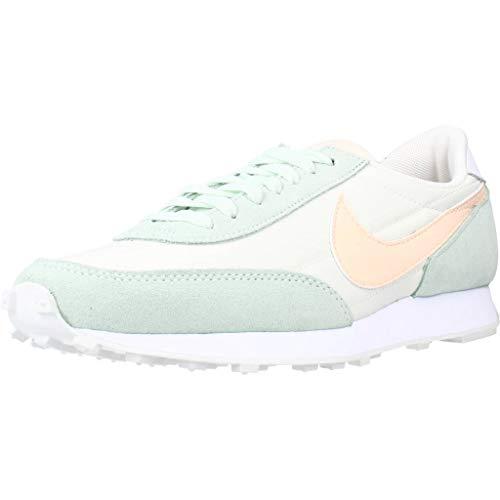 Nike W DBREAK, Zapatillas Deportivas Mujer, Sail Crimson Tint Barely Green, 37.5 EU