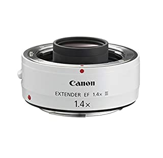 Canon EF 1.4X III - Adaptador para Objetivos de cámaras Canon EF 70-200mm f/2.8L, EF 70-200mm f/2.8L IS, EF 70-200mm f/4L, EF 100-400mm f/4.5-5.6L, Color Blanco (B0040X451I) | Amazon price tracker / tracking, Amazon price history charts, Amazon price watches, Amazon price drop alerts
