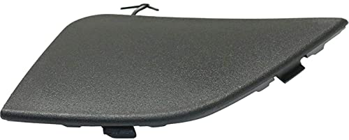 I-Match Auto Parts Right Passenger Side Tow Hook Cover Replacement for 2016-2018 Toyota RAV4 Except SE Models 532850R080 TO1029107