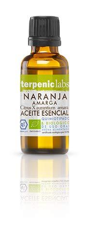 Terpenic Evo - Aceite Esencial Bio Naranja Amarga, 30 ml