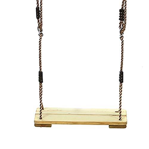 EANSSN Hodenhängender Schaukel Mit Einstellbarem PE-Seil Für Spielplatz, Garten, Hof