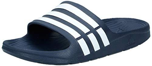 adidas Herren Duramo Dusch- & Badeschuhe, Blau (New Navy/White/New Navy), 42 EU (8 UK)