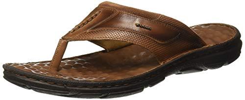 Woodland Men's TNBRWNLeather Slipper-9 UK/India (43 EU) -(GP 2950118)