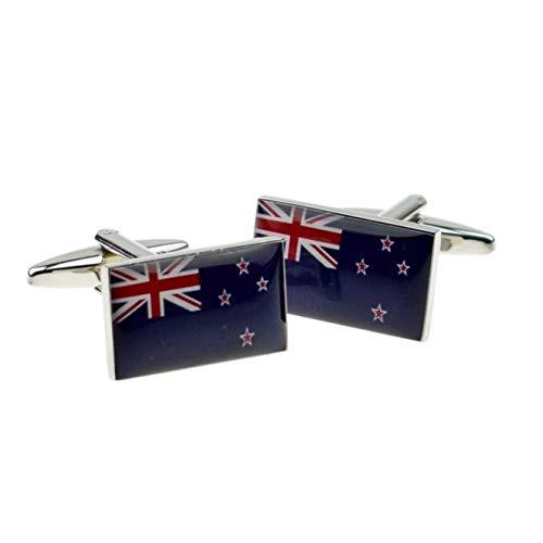 Manschettenknöpfe Neuseeland-Flagge