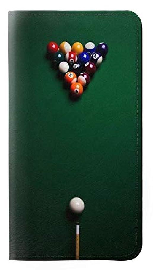 確立兵隊形状JPW2239H1L ビリヤードプール Billiard Pool Huawei Honor 10 Lite, Huawei P Smart 2019 フリップケース