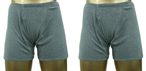 尿漏れパンツ 中重失禁パンツ トランクス(LL*2)/しっかり安心タイプ男性用ボクサーパンツ 100cc【2枚組】