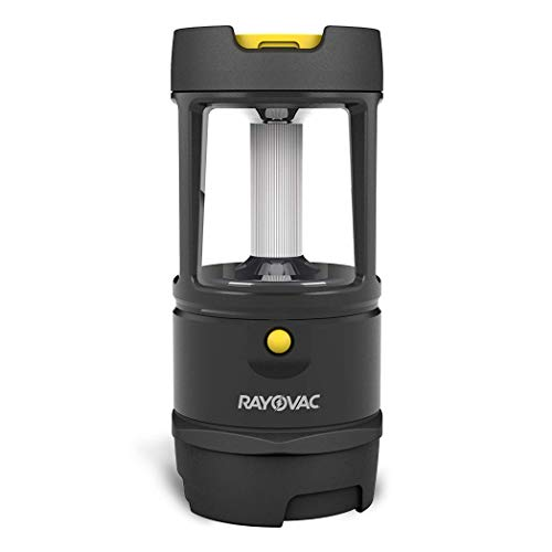 Rayovac - DIYLN3D-BA Virtually Indestructible LED Camping Lantern Flashlight, 600 Lumens Battery Powered LED Lanterns for Hurricane Supplies, Survival Kit, Camping Accessories, IP67 Waterproof
