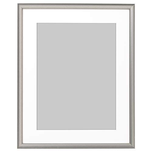SILVERHÖJDEN ram 40 x 50 cm silverfärgad