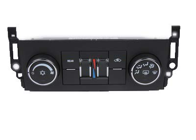 GM Genuine Parts 15-74003 Heating and Air Conditioning Control Panel with Rear Window Defogger Switch