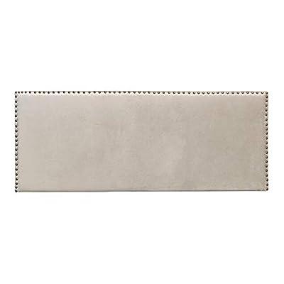 Esta tapizado con: terciopelo. Sus medidas son: 160x6x60 cm. Un cabecero de cama perfecto para diseñar ambientes de estilo: contemporáneo, moderno. Un producto recomendado para cama de 135 - 150 cm. Material: Terciopelo(100% poliéster). Relleno: foam...