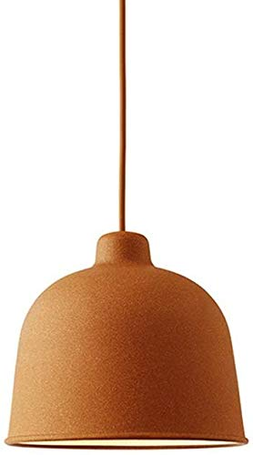 Kronleuchter Single Head Post Modern Minimalistischen Dänischen Designer Art Macaron Kronleuchter Kreative Tischlampe Rollsnownow (Farbe: Orange)