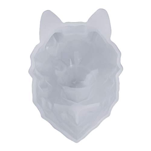 MYA 1 Stück 3D-Formen Bär Tier Kaninchen Löwe Silikonform 3D Silikonform für Kerze Kuchen Schokolade Dekoration Backform Werkzeug 3