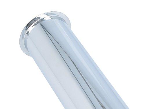 tecuro Edelstahl Verstellrohr Tauchrohr Verlängerung 500 mm für Geruchsverschluss