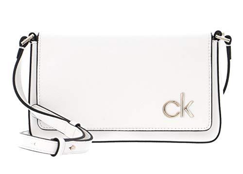Calvin Klein Flap XBody Bag CK White