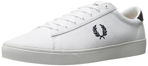 Fred Perry Herren FP Spencer, weiß, 37 EU