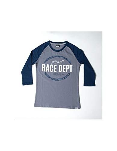 Motodak T-shirt RST Original 1988 grijs/blauw maat XS dames