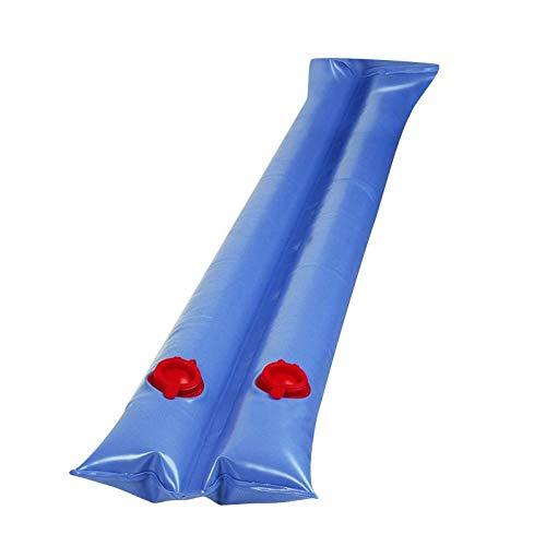 Juhuitong Poolkissen Für Oberirdische Pools 7,8 ' Überwinterung Von Luftkissen Doppel-Wasserrohr-Poolzubehör Für Schwimmbadabdeckung (Blau)