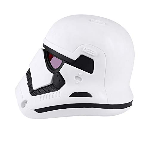 MODRYER Star Wars 1/1 Helmet White Soldier Wearable Mask Halloween Cosplay Headgear Props for Halloween Masquerade Christmas Party Gift,White