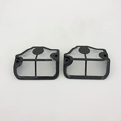 2 unids/lote cubiertas de filtro de aire de nailon para HUSQVARNA 142137 E 136141 LE 41 36 motosierra de gasolina reemplazar OEM 530 02 98-11, 530029811
