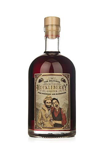 Huckleberry Gin Liqueur 22% vol (1 x 0.5l ) - Pure Friendship and Blueberries