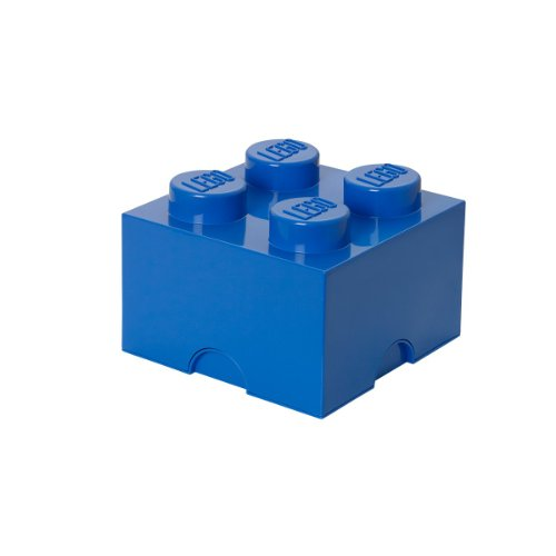 Plast Team 4003 - Caja forma bloque lego 4, color
