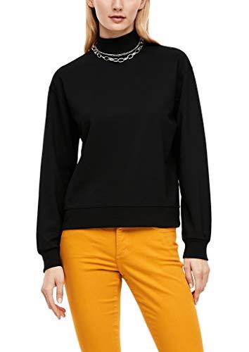 s.Oliver Damen 120.10.009.14.140.2042680 Sweatshirt, Black, 38