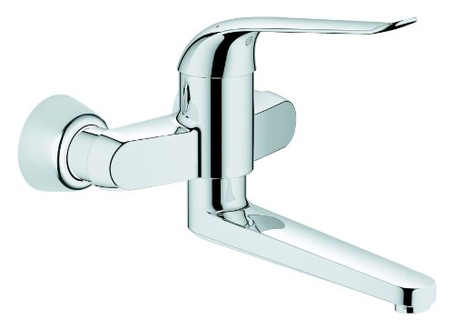 Grohe Euroeco grifo lavabo mural long 257mm Ref. 32773000