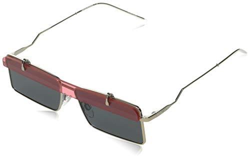 Emporio Armani Gafas de Sol EA 2111 Matte Silver/Grey 57/14/140 hombre