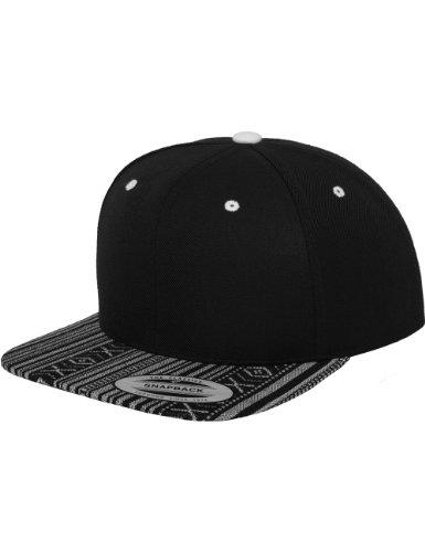 Flex fit Aztec Snapback blk/WHT One Size Casquette Unisex-Adult
