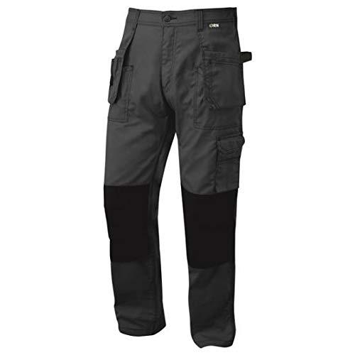 ORN Werkkleding 2850 Swift Tradesman Broek, Antraciet/Zwart, 36S Maat