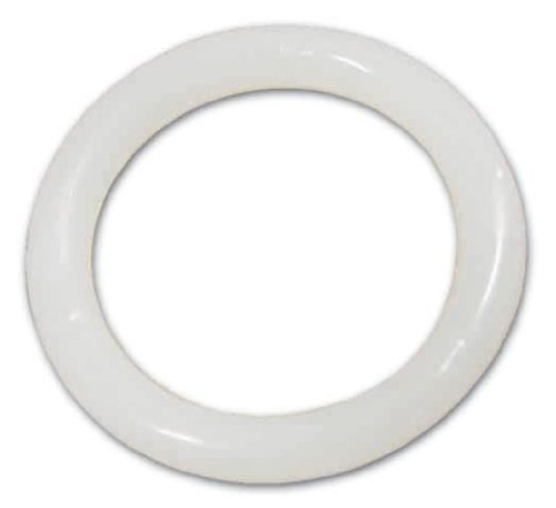 Anneau tubulaire pour définir rideau Moplen® complet blanc 16x23 mm conf. 500 Pcs