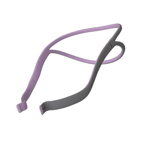 Airfit P10 Nasal Pillow System replacment headgear for her Purple/Gray