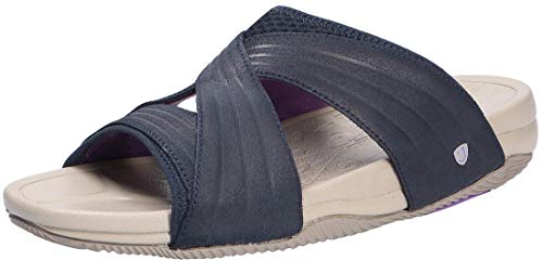 Joya Bali Dark Navy, Pantolette, Emotion-Sohle, Leather/Textile 740san, Größe 40