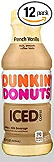 Dunkin' Donuts Bottled Ice Coffee 12 Pack (French Vanilla)