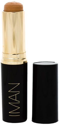 IMAN Cosmetics Second To None Stick Foundation, Light Skin, Sand 4