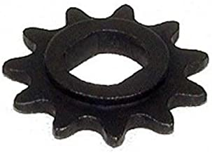 WhatApart 11 Tooth Sprocket (Dual D-bore, use #25 Chain) for 100w 125w 150w 200w 250w 300w Electric Scooter Motors