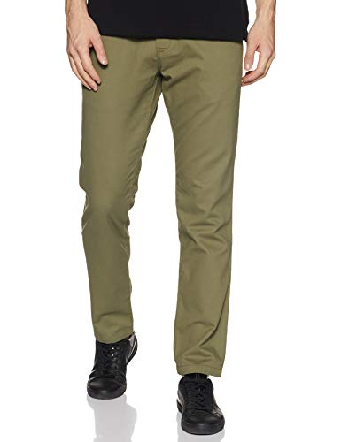 Amazon Brand – House & Shields Men's Straight Fit Casual Trousers