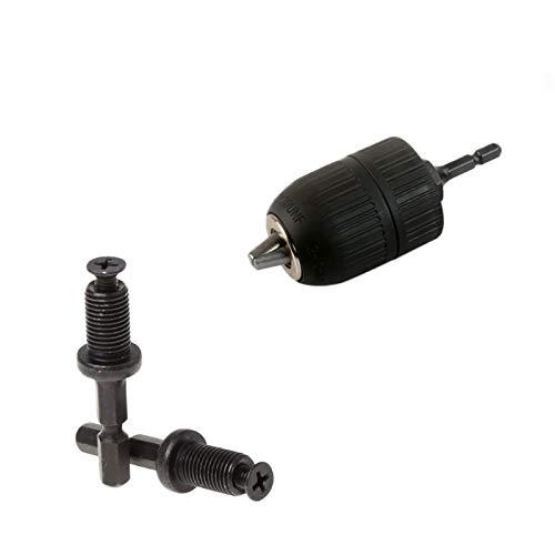 WEI-LUONG Chuck Collet 1/4'6 mm Hex Shank Keyless Keyless Drill bit Adapter Adapter Tool de Cambio rápido