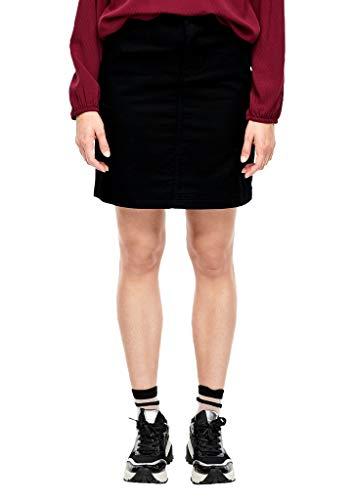 s.Oliver RED Label Damen Twillrock mit Cargotaschen Black 42