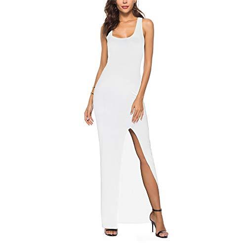Nuevos modelos elegantes de la explosión del vestido de la falda dividida del chaleco atractivo