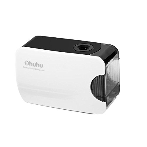 Ohuhu Electric Pencil Sharpener, Automatic, Both Battery and USB Powered, New Version