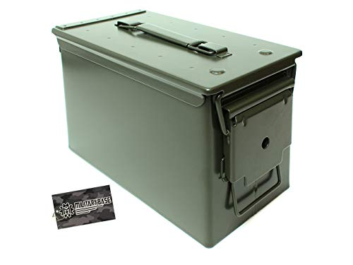 MILITARY-BASE(ミリタリーベース)M2A1タイプ .50 アンモボックス 2.6kg [307mm×155mm×190mm]