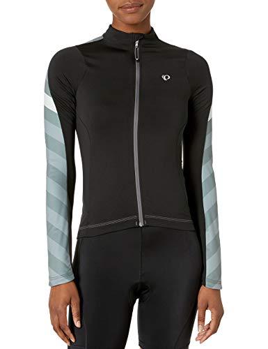 Pearl Izumi - Ride Women's Elite Pursuit Thermal Jersey, Black Stripe, X-Large