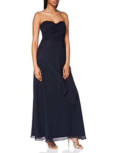 Vera Mont VM Damen 0031/4825 Kleid, Blau (Night Sky 8541), 38