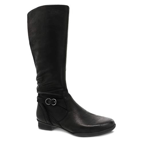 Dansko Women's Kay Black Knee High Boot 7.5-8 M US